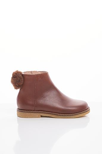 Bottines/Boots marron ACEBOS pour fille