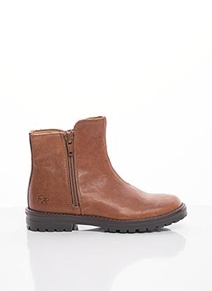 Bottines/Boots marron FR pour fille