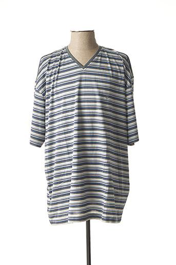 T-shirt manches courtes gris ERMANO pour homme