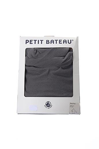Sous-pull gris PETIT BATEAU pour garçon