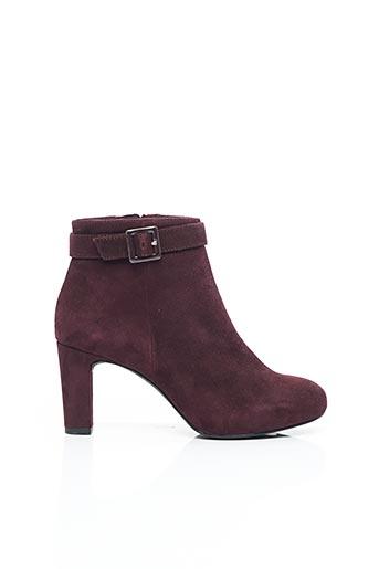 Bottines/Boots violet UNISA pour femme
