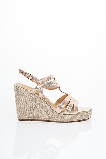 Sandales/Nu pieds rose TAMARIS pour femme