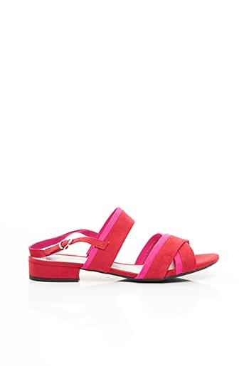 Sandales/Nu pieds rouge MARCO TOZZI pour femme