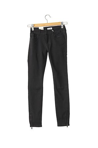 Jeans skinny noir TIMEZONE pour femme