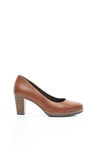 Escarpins marron REMONTE pour femme
