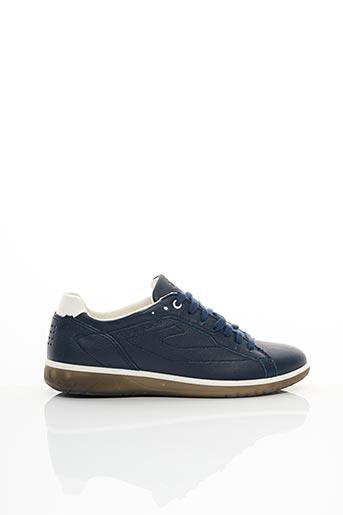 Baskets bleu EASY WALK78 pour homme
