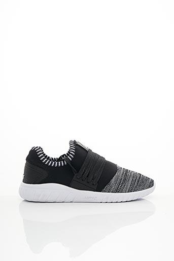 Baskets noir ASFVLT pour homme