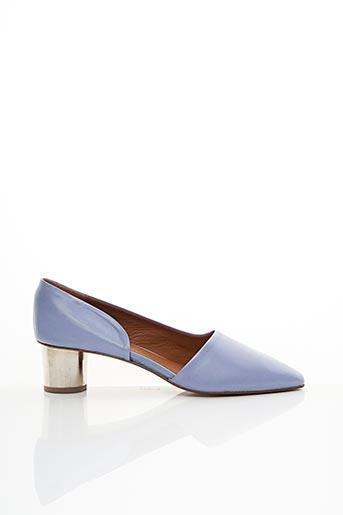 Escarpins bleu BY FAR pour femme