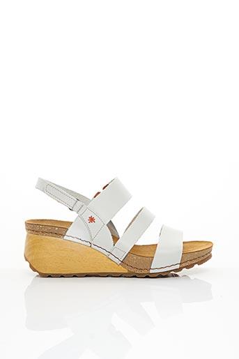 Sandales/Nu pieds blanc ART pour femme