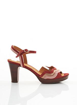 Sandales/Nu pieds rouge CHIE MIHARA pour femme
