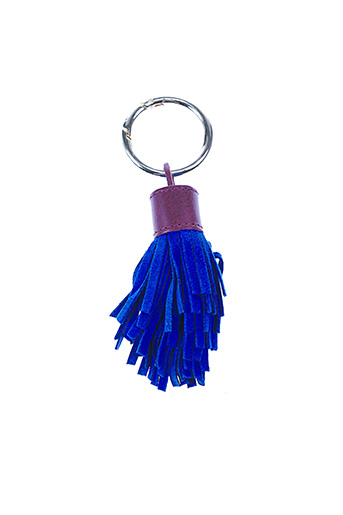 Porte-clé bleu HERBERT FRÈRE ET SOEUR pour femme