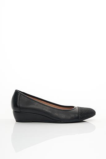 Chaussures de confort noir STONEFLY pour femme