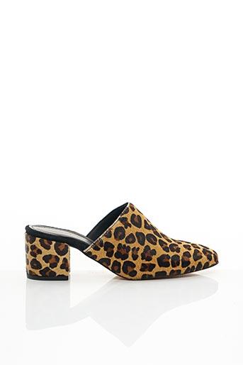 Sandales/Nu pieds beige ANONYMOUS COPENHAGEN pour femme