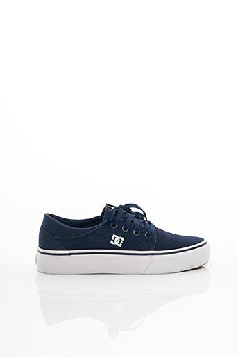 Baskets bleu DC pour garçon