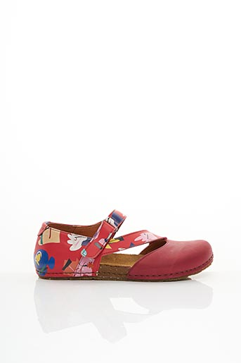 Sandales/Nu pieds rouge ART pour femme