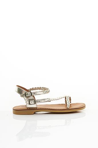 Sandales/Nu pieds beige ADOLIE pour fille