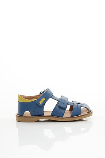 Sandales/Nu pieds bleu ASTER pour garçon