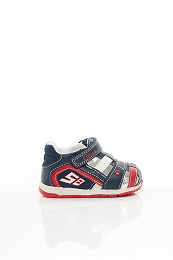 Sandales/Nu pieds bleu CHICCO pour garçon