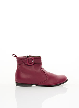 Bottines/Boots rose PEPE pour fille