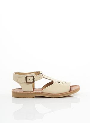 Sandales/Nu pieds beige YOUNG SOLES LONDON pour fille