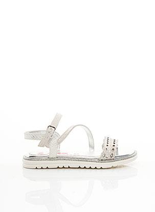 Sandales/Nu pieds gris ASSO pour fille