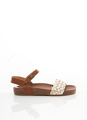 Sandales/Nu pieds marron PEPE pour fille