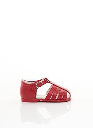 Sandales/Nu pieds rouge CENDRY pour fille