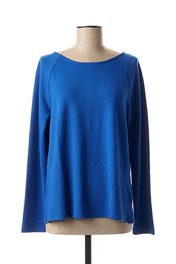 T-shirt manches longues bleu STREET ONE pour femme