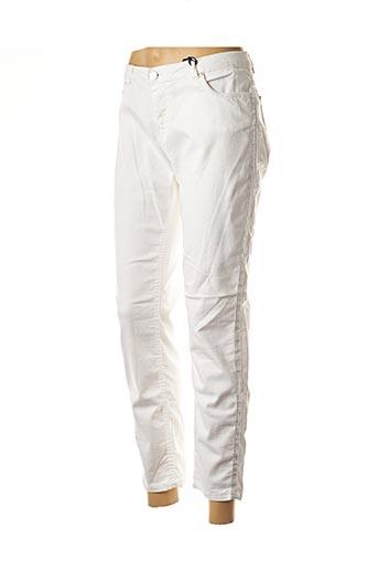Pantalon 7/8 blanc DEELUXE pour femme