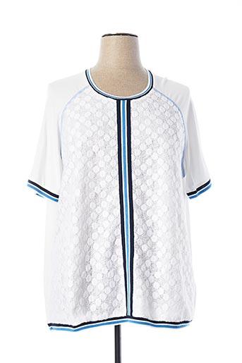 T-shirt manches courtes blanc RABE pour femme