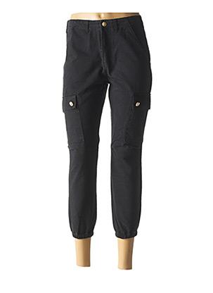 Jeans coupe slim noir CIMINY pour femme