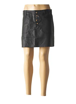 Jupe courte noir CIMINY pour femme