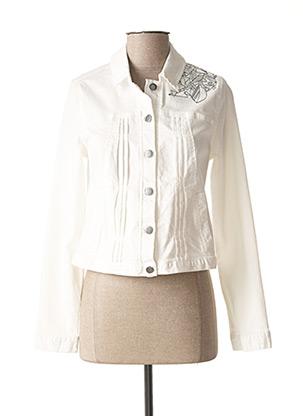 Veste casual blanc MADO ET LES AUTRES pour femme