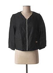 Veste casual noir MADO ET LES AUTRES pour femme seconde vue