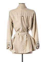 Veste casual beige MADO ET LES AUTRES pour femme seconde vue