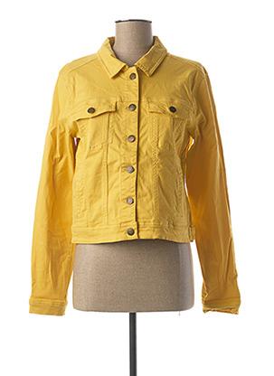 Veste casual jaune BEST MOUNTAIN pour femme