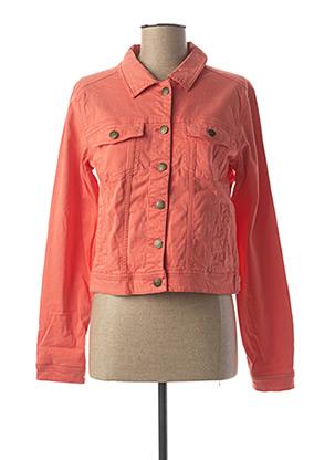 Veste casual orange BEST MOUNTAIN pour femme