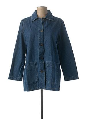 Veste en jean bleu VILA pour femme