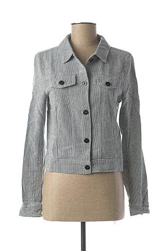 Veste casual gris ICHI pour femme