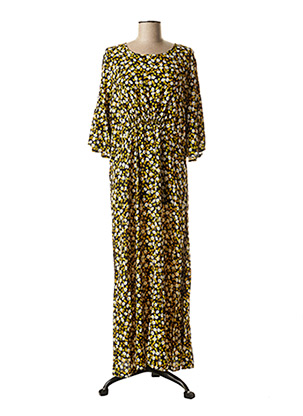 Robe longue jaune BEST MOUNTAIN pour femme