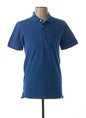 Polo manches courtes bleu SELECTED pour homme seconde vue