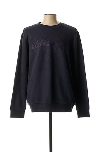 Sweat-shirt bleu NAPAPIJRI pour homme
