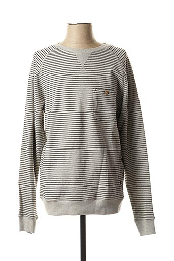 Sweat-shirt gris CASUAL FRIDAY pour homme