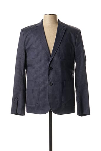 Veste chic / Blazer bleu CASUAL FRIDAY pour homme