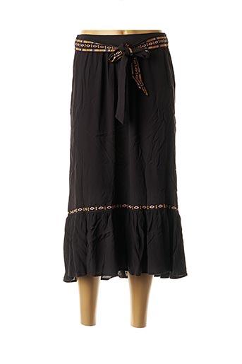 Jupe longue noir CKS pour femme