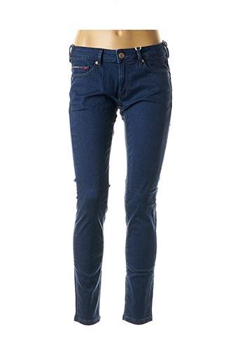 Jeans skinny bleu TOMMY HILFIGER pour femme