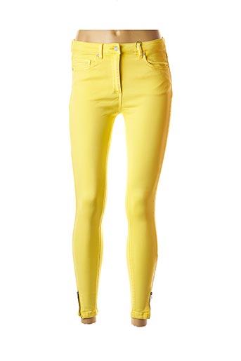 Pantalon 7/8 jaune CKS pour femme