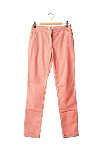 Pantalon 7/8 orange CKS pour femme