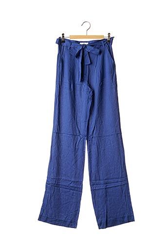 Pantalon chic bleu CKS pour femme
