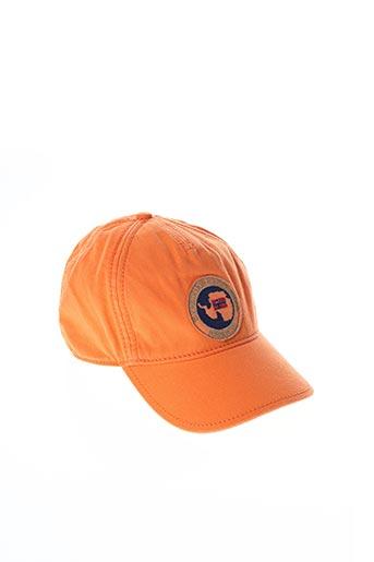 Casquette orange NAPAPIJRI pour garçon
